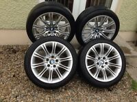 """18"""" BMW MV2s Alloys 5x120 E60 520d 525d 530d"""