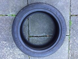 Goodyear tyre 8mm tread run flat