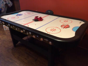 NHL Air Hockey table with score keeper