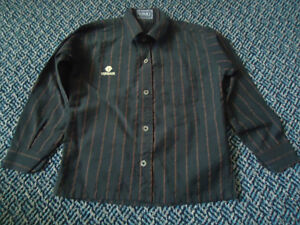 Boys Size 4 Versace Long Sleeve Dress Shirt