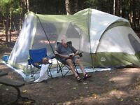 Escort 8 person tent with screened room