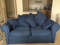 Large 2 seater double sofa bed for sale great condition fabric