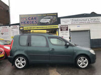2007 SKODA ROOMSTER (3) 1.9TDI PD 105 PS GLASS ROOF (AA) WARRANTED INCLUDED
