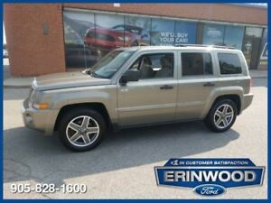 2008 Jeep Patriot Sport4WD North Edition / ALLOY WHLS / LOW KM'S