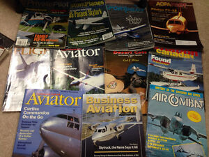 Airplane magazines about 20