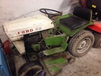 1970s Antique Ford tractor