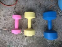 Set of weights ladies