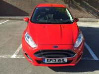 FORD FIESTA 1.5 TDCI 5DR ONLY 17000 MILEAGE £0 ROAD TAX