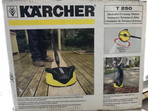 K'A'RCHER T250 Deck and Driveway cleaner