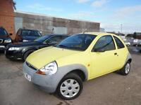 FORD KA STUDIO 1.3 PETROL LOW MILAGE FULL SERVICE HISTORY ONE OWNER