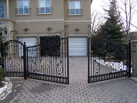 Wrought Iron Gates, Railings and Fences