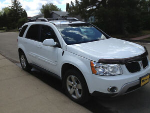 2006 Pontiac Torrent white SUV, Crossover