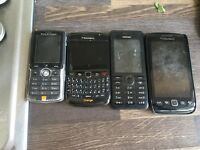 Mobile phones for sale x4