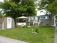 A must-see trailer in fabulous park at Port Severn