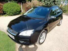 CHEAP CAR - 2007 07 FORD FOCUS 1.6 GHIA TDCI 5D 108 BHP DIESEL