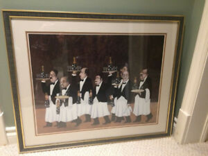 Butler painting with great frame