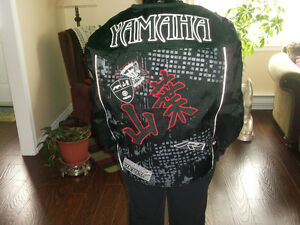 YAMAHA  JOE ROCKET BIKER'S JACKET (LARGE)