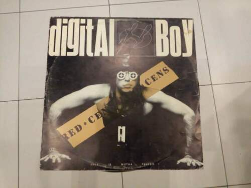Digital boy this is mutha f*ker lp 33 giri