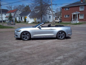 2016 Ford Mustang 3.7L V-6 Gas Convertible