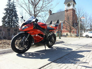 **FAIRINGS ONLY** Zx6r candy burnt orange