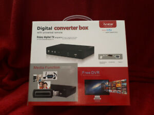 Digital converter box for your analog TV - iview 3500stbii