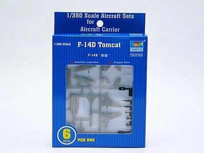 Trumpeter 06220 1/350 Scale F-14D Tomcat Assembly Aircraft Model Kits  for sale  China