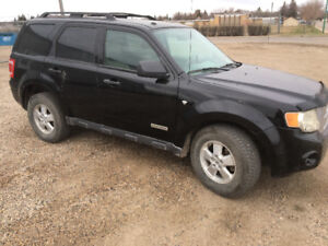 2009 Ford Escape Black SUV, Crossover