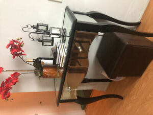 Console table and cabinet for sale