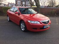 MAZDA 6 1.8 SAKATA, 5 DOOR HATCH (2004) 12 MONTHS MOT