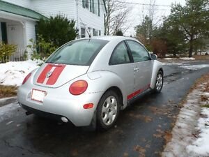 2001 Beetle 5 speed. Reduced again, $1900.