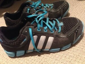 Adidas running shoes and silver heels Kitchener / Waterloo Kitchener Area image 2