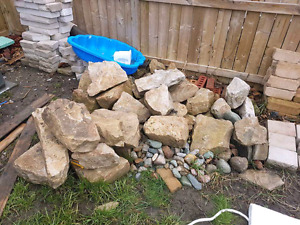 Landscaping rocks and edging