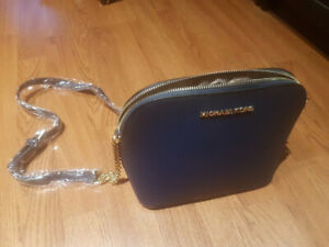New Michael Kors Saffiano Leather Crossbody Bag
