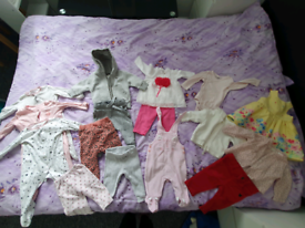 Bundle of baby girl clothes- 3-6 months old