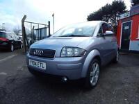 2004 Audi A2 1.6 FSI SE 5dr Full service history,2 keys,12 months mot,Warrant...