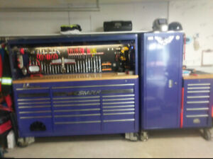 Professional Snap-on/Mac tools and toolboxes
