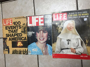 Old Life Magazines ++ All sold as a lot