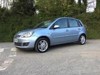 2006 56 FORD FIESTA 1.6 TDCI GHIA 5 DOOR ONLY 65000 MILES 1 PREVIOUS OWNER