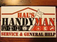 HAL'S HANDYMAN SERVICES & GENERAL HELP