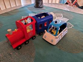 Peppa Pig Train & Police Car