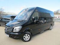 Mercedes-Benz SPRINTER LWB KAHN EDITION 9 Seater Luxury Minibus ** NOW S0LD **