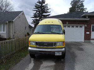 2005 Ford E-350 FORD DIESEL HIGH TOP CARGO VAN FOR SALE
