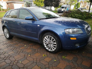 2007 Audi A3 Leather. Panoramic, AC, Heated Seat(NewTimingBuilt)