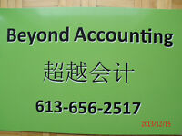 Beyond Accounting, CPA, CGA services