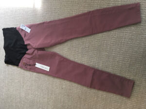 Thyme Maternity Skinny Yoga Jeans size 27