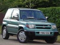 Mitsubishi Shogun Pinin 1.8 GLX**1 LADY OWNER SINCE 2000 + 15 SERVICE STAMPS***