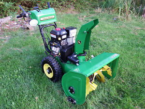 John Deere Dual Stage Snowblower 928E W/ Electric Start & HID