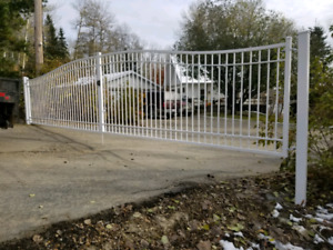 driveway gates, security gates, aluminum gates, gate operators