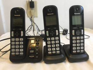 Panasonic 3 Headset Cordless Phone