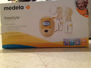 Medela freestyle double breastpumpf